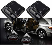 QMZDXH Car Door Led Wireless Welcome Logo Light,
