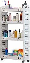 QNDDDD Bathroom Rack Storage Shelf Floor Storage
