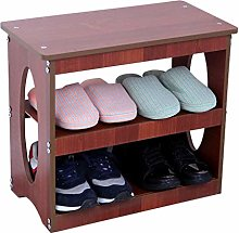 QNDDDD Shoe Racks Organize Change Shoe Bench