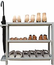 QNDDDD Shoe Racks Organize Plastic Bedroom Storage