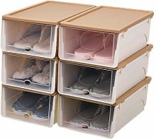 QNDDDD Shoe Racks Organize Plastic Drawer Storage