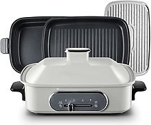 QNMM Electric Multifunction Griddle, 1400W