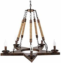 QNN Ceiling Lights,Light Antique up and Down