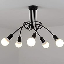 QNN Ceiling Lights,Nordic Loft Chandeliers