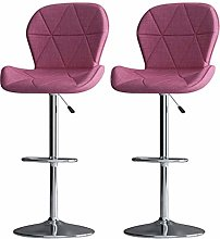 QNN Desk Chair,Pair of Bar Stools Set with Arms,
