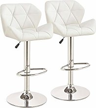 QNN Desk Chair,Pair of Bar Stools Set with