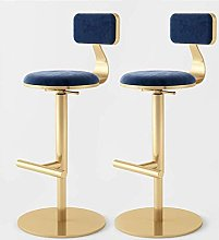 QNN Desk Chair,Pair of Modern Bar Stools Set with