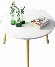 QNN Desk,Coffee Table, Round Living Room Low Table