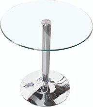 QNN Desk,Coffee Table, Transparent Tempered Glass