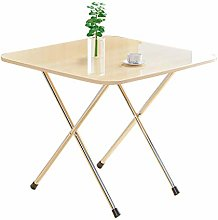 QNN Desk,Folding Table, Home Square Dining Table