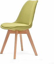 QNN Home Solid Wood Desk Chair Simple Modern Back