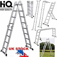 QNN Ladders,4.7M Folding Multi Ladder with 1 Tool