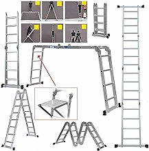QNN Ladders,4.7M Multi Purpose Aluminium Extension
