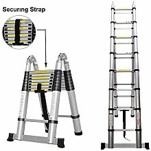 QNN Ladders,DIY Ladder 5M Portable Extendable