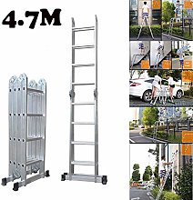 QNN Ladders,Multi Purpose Ladder with 4.7M 15.5Ft