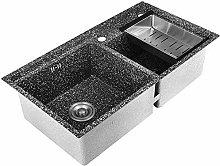 QNN Sink,Kitchen Sink. Double Sink Drain Basket