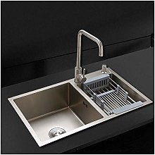 QNN Sink,Kitchen Sink. Drain Basket Double Sink