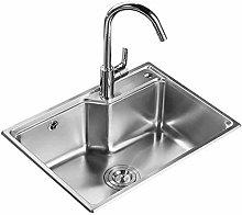 QNN Sink,Kitchen Sink. Rectangular Under Counter