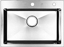 QNN Sink,Kitchen Sink Square Stainless Steel Bar