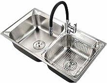 QNN Sink,Kitchen Sink. Stainless Steel Brushed