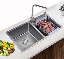 QNN Sink,Kitchen Sink. Stainless Steel Double Sink