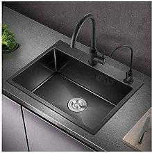 QNN Sink,Kitchen Sink Stainless Steel Sink 2 Bowls