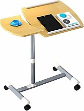 QNN Table,Laptop Desk with Mouse Board, Adjustable