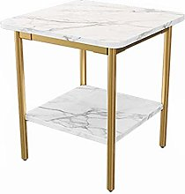 QNN Table,Marble Square Coffee, Sofa for Small