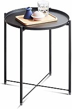 QNN Table,Metal Round Sofa, Storage, Bedside, for