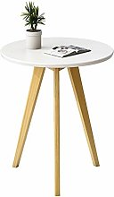 QNN Table,Nordic Round Solid Wood Sofa for Living