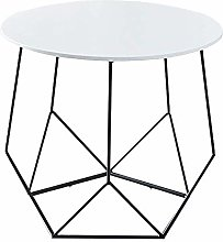 QNN Table,Nordic Wrought Iron Balcony Sofa Coffee
