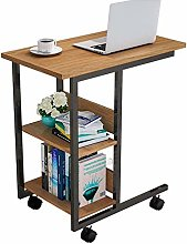 QNN Table,Sofa Coffee/Snack/Storage with Wheels