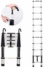 QNN Telescoping Tall Ladder with Hook, Folding