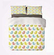 Qoqon Duvet Cover Set Rubber Duck Practical 3