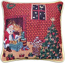 QPC Direct Christmas Tapestry Style Festive Xmas