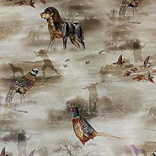 QPC Direct Country Hunting Scene PVC Oilcloth