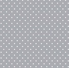 QPC Direct Light Pale Grey Polka Dot Spot Print