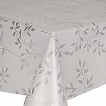 QPC Direct Trailing Leaves PVC Oilcloth Table