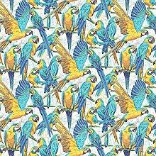 QPC Direct Tropical Parrot Mosaic PVC Oilcloth