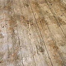 QPC DIRECT Wooden Plank Rustic Wood Effect Print