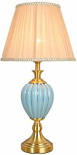QQB Fashion Table Lamp Simple Bedroom Warm