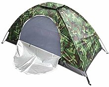 QQW 1-2 Man Camouflage Tent Waterproof Windproof