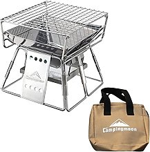 QQW Tabletop Barbecue Grill for Garden Picnics
