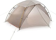 QQW Tent 2 Man Camping Tent Nylon Silicone Outdoor