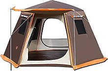 QQW Tent Pop up 2-4 5-8 Man Person Camping