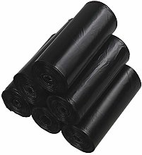 Qshape 20L Dustbin Wastebasket Bin Liners Bags,