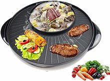 QSXF Korean multi-function barbecue hot pot one