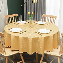 QSYT PVC tablecloth oilcloth tablecloth round