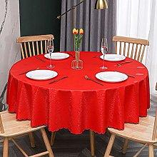 QSYT Tablecloth Oilcloth Tablecloth Round Oilcloth