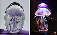 QTRT LED Jellyfish lamp jellyfish light 3D